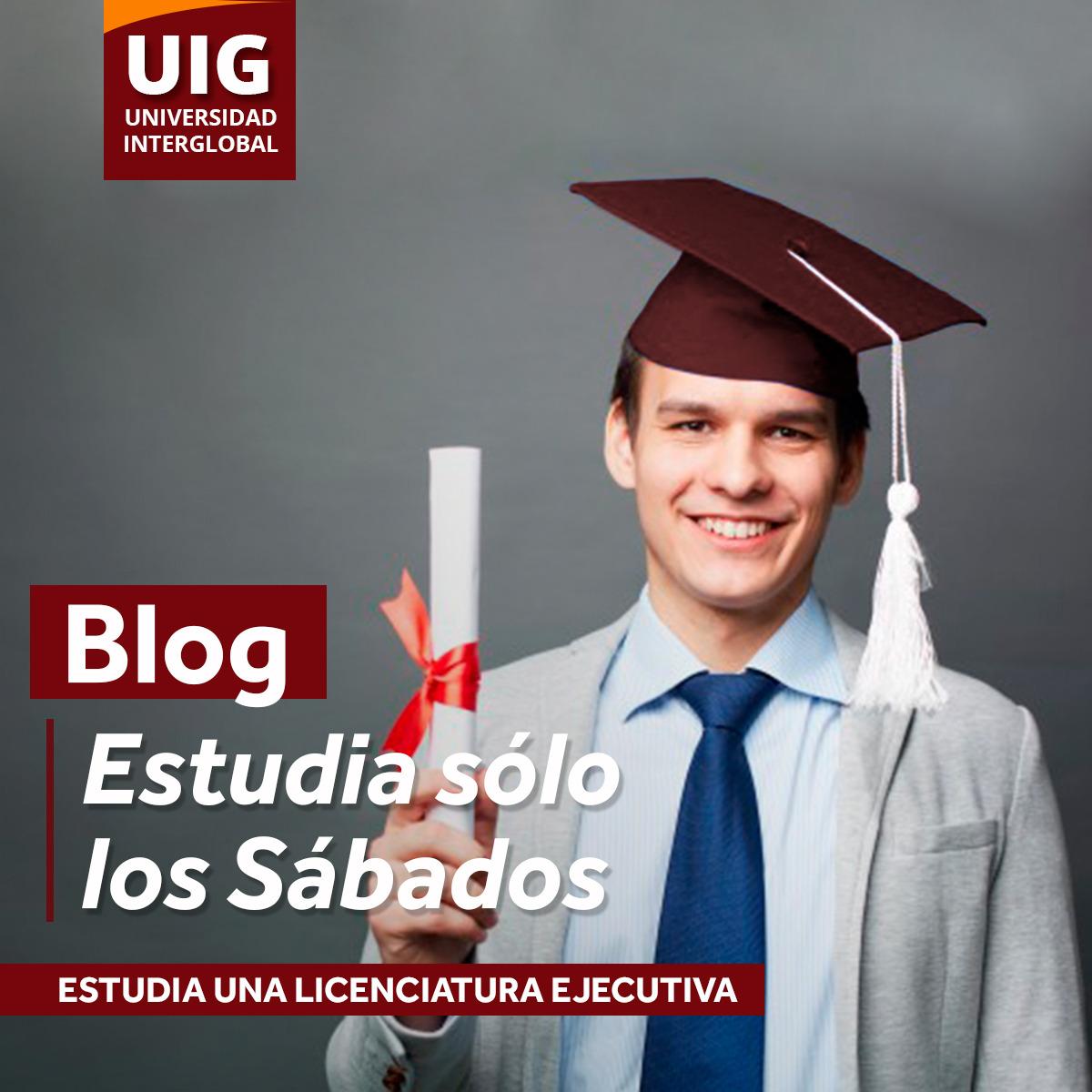 Estudia sólo los sábados. En UIG tenemos las razones para que te decidas a hacerlo.
