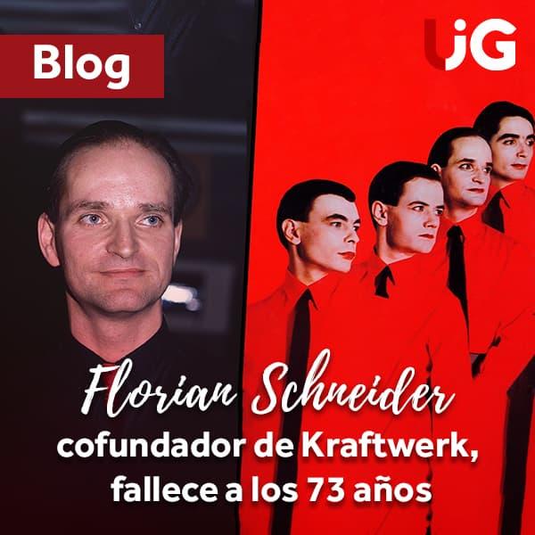 Florian Schneider, cofundador de Kraftwerk, fallece a los 73 años